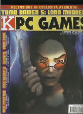 K PC GAMES2001tomb raider cronicles,fifa2001,red alert2,baldurs gate2crimson sky
