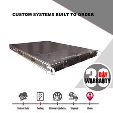 Cheap 1U 4 Bay AMD 24 Core 1.9Ghz FreeNas Storage server LSI 9211 HBA UNAID