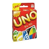 MATTEL UNO Card Game / Board Game Together with family and friends card game
