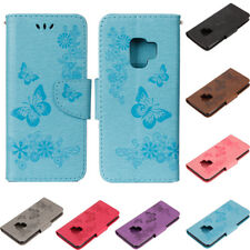 New Wallet Flip PU Leather Phone Case Cover For Samsung Galaxy S8 S9 A3 A5 2017