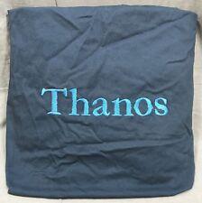 "Pottery Barn Pb Teen Navy Washed Twill Large Beanbag Slipcover ""Thanos� Monogram"