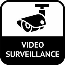 CCTV Video Surveillance In Operation Sticker Decal Graphic Vinyl Label