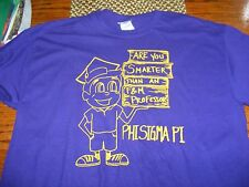 FRANKLIN & MARSHALL FRATERNITY PHI SIGMA PI T SHIRT SMARTER THAN F&M PROFESSOR