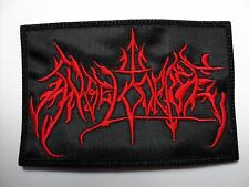 angel corpse  red logo   embroidered patch