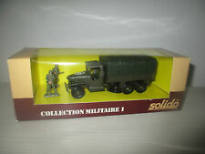 CAMION GMC CABINE COLLECTION MILITARE I N°6032 SOLIDO SCALA 1:50