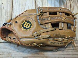 """Vtg Wilson ACH2170 Jim Catfish Hunter Baseball Glove Pro-Back Model RHT 11.5"""""""