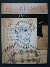 Falkenberg 1 EO Clara Georges V Lombard Lou Smog Guerre Templiers + dédicace