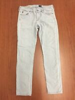 Adriano Goldschmied Jeans The Stevie Ankle Slim Straight Leg Size 28R Inseam 27