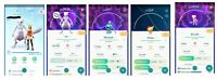 Pokemon Account Go Level 33-34 - 13x Mewtwo -30x Legendary -17x Shiny -43x 100IV