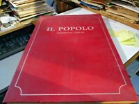 IL POPOLO  CALTANISSETTA 1920-1924 - ED. LUSSOGRAFICA CALTANISSETTA 1986