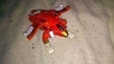 Vintage 1996 Red Power Rangers Zeo Auto Morphin Zord Figure flip head Original