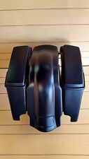 "4"" STRETCHED SADDLEBAGS AND REAR FENDER INCLUDED FOR HARLEY DAVIDSON 2009-2013"