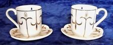 Party Lite-2 Teacups & 2 Saucers Tealight candle holders