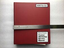 Massey Ferguson Original 600 Series Tractor Workshop Service Manual