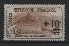 "FRANCE STAMP TIMBRE 167a "" ORPHELINS LION BELFORT IMP. FINE "" NEUF xx LUXE T254"