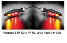 Kellmann Rhombus S DF Dark RR RL  Led Blinker Bremslicht Rücklicht Satz Paar