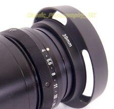 LEICA E39 fit 39mm Metal Vented Lens Hood for Summicron-M 2/50 Summaron 2/35 etc