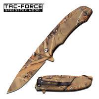 Coltello Tac Force Rainforest camo Caccia TF907GC Knife Messer Couteau Navaja