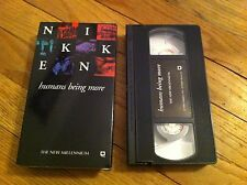 NIKKEN Humans Being More THE NEW MILLENIUM Dynamic Networking Company VHS video