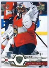 """2019/20 Upper Deck Hockey Exclusives numbered card 66/100 """"Roberto Luongo"""""""