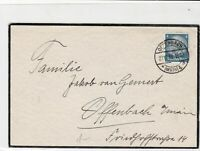 germany 1933 stamps cover ref 18918