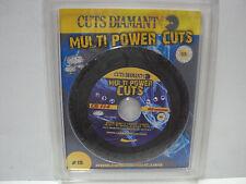 DISCO DIAMANTATO MULTI POWER CUTS Ø 115  CUTS DIAMANT COD. CD 114