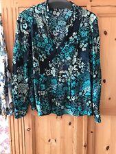 Laura Ashley Blouse Size 18 Vgc