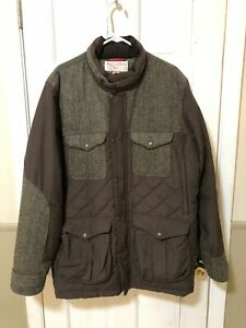 Filson X Harris Tweed Goose Down Coat Men's Size XXL Made In USA EUC