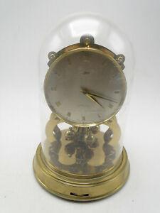 Schatz Spring Wind 1000 Day Round Shelf Clock w Dome & Original Box not working