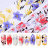 Nail Foils Holographic Colorful Transfer Stickers Mixed Patterns Nail Art Decals