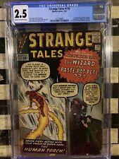 Strange Tales #110 CGC 2.5 1st Doctor Strange 1963 Movie 🔥 Avengers