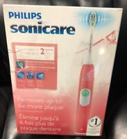 Philips Sonicare Plaque Control Sonic RED New/Open/Box