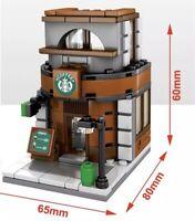 """Starbucks"" Coffee Shop Custom Lego Set {Brand New}"