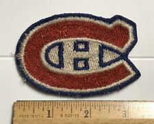 Montreal Canadiens NHL Hockey Team Logo Souvenir Embroidered Patch