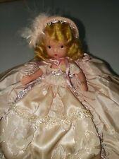 "Vintage Nancy Ann Storybook Doll ""Silks & Satins� 168 W/ Box"