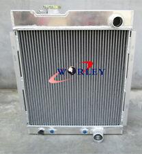 3 CORE FORD MUSTANG V8 289 302 WINDSOR ALUMINUM RADIATOR 64 65 66