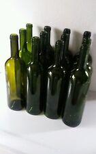 36 EMPTY MISMATCH  WINE BOTTLES BORDEAUX STYLE FOR CORK USE