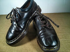 Vintage Dr. Martens Brown Leather Womens Shoes Made in England Sz 7 US/Sz 5 UK