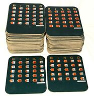 71 Vintage Bingo Cards with Fingertip Shutter Slide Series 13 FREE Shipping USA