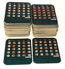 71 Vintage Bingo Cards with Fingertip Shutter Slide Series 13 FREE Shipping USA