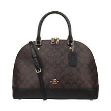 Coach F27584 Signature Sierra Satchel Dome Bag Leather Handbag
