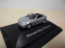 Herpa 1:87 - Mercedes-Benz SLK (R 171) - silber-metallic - Werbemodell