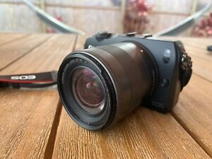 Canon EOS M EF-M 18-55 IS STM kit. Used but in excellent condition.
