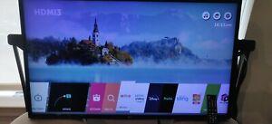LG 4K UHD Smart LED TV - 43'' Class (42.5'' Diag) ***NO BASE***