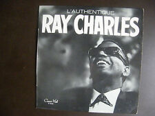 """EP RAY CHARLES  """"L'Authentique Ray Charles""""  Concert Hall – V 543  France"""