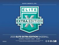 2020 Panini Elite Extra Edition Baseball Hobby Box Factory Sealed Presale