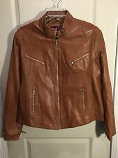 REAL LEATHER Jacket Size XL