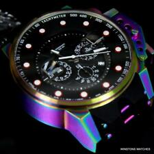 Invicta I Force Bomber Iridescent Black 50mm Chronograph 25276 Watch New