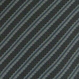 Gray Blue Striped Silk Tie