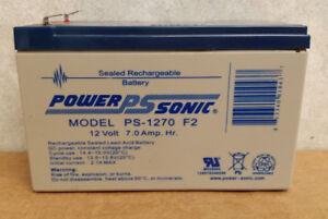 Power Sonics PS-1270 Battery
